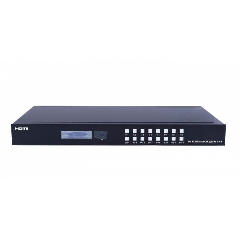 Матричный переключатель HDMI2.0, 8x8 (4K@60hz) в Україні та Києві