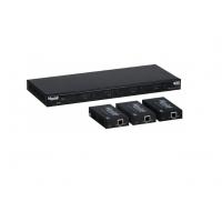 Матричний комутатор HDMI 4X4 MATRIX SWITCH KIT, HDBT, POC, 4K / 60 Muxlab 500412-EU