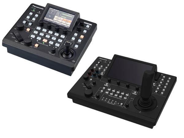 Новые панели управления PTZ-камерами Panasonic AW-RP60 и AW-RP150