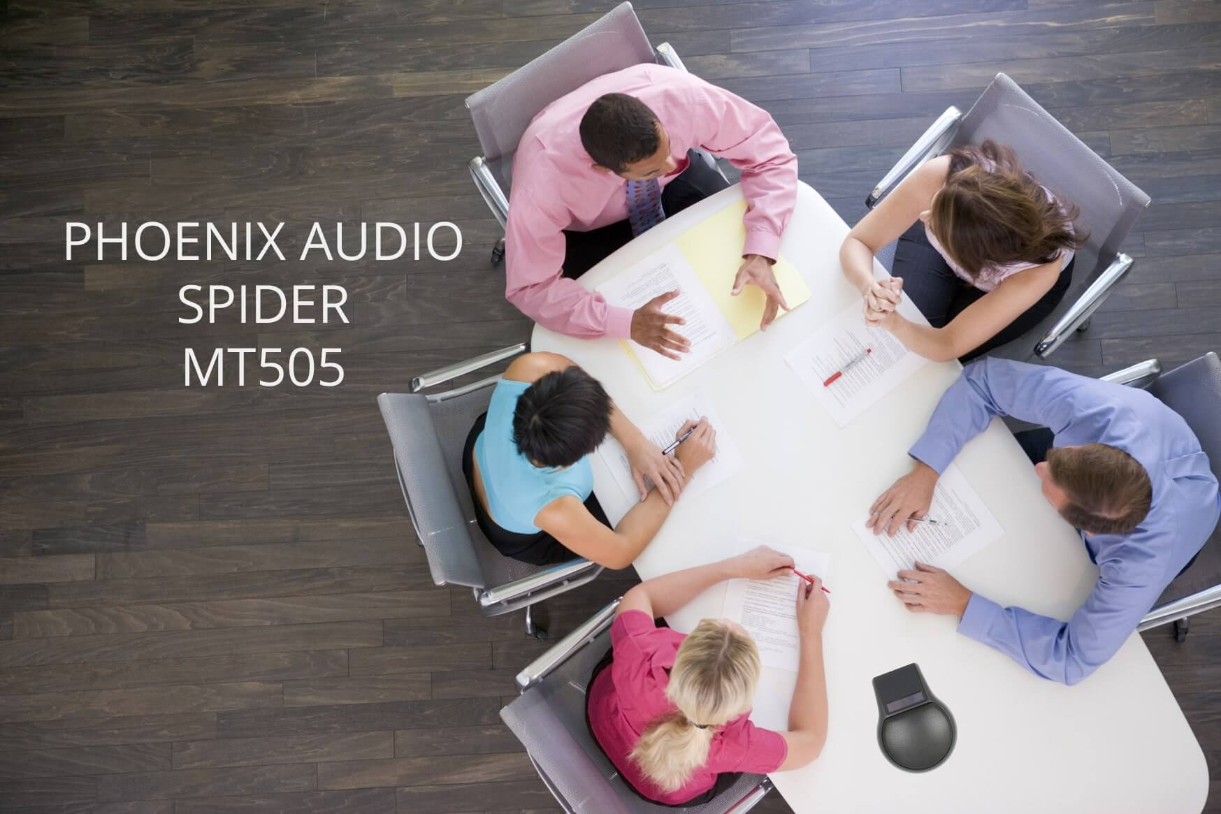 Конференц-телефон Phoenix Audio Spider (MT505)